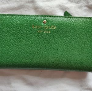 Kate Spade Green Continental Wallet